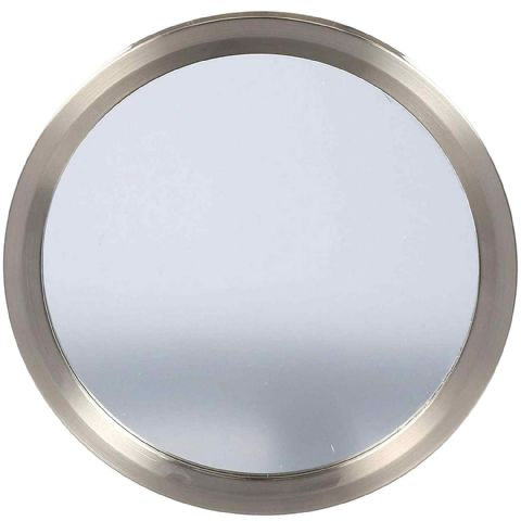 Command Small Satin Metal Sink Bath & Shower Mirror